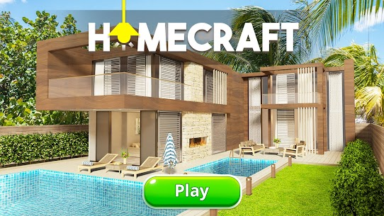 Homecraft Mod Apk – Home Design Game (Unlimited Gold Coins) 6