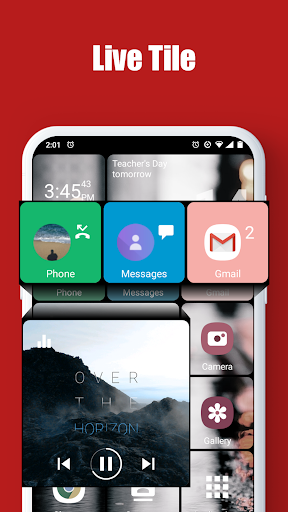 Square Home - Launcher : Windows style 2.1.14 Screenshots 2