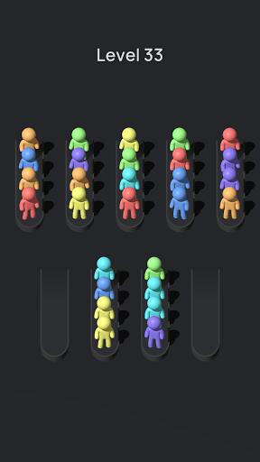 Crowd Sort - Color Sort & Fill  screenshots 7
