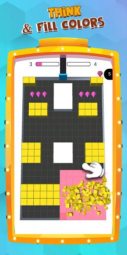 Color Blocks Fill  - block puzzle - coloring games  screenshots 15