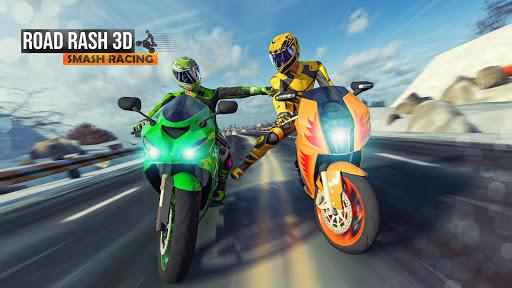 Road Rash 3D: Smash Racing apkpoly screenshots 5