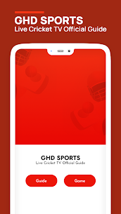 GHD SPORTS – Live Cricket TV Official Guide Apk Download 2021 3