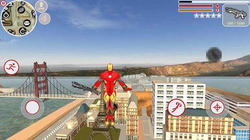 Super Iron Rope Hero - Fighting Gangstar Crime 3.6 Screenshots 3