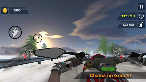 Bike wheelie Simulator - MGB  screenshots 4