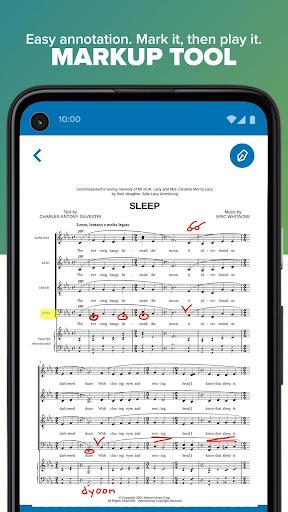 Musicnotes Sheet Music Player modavailable screenshots 5