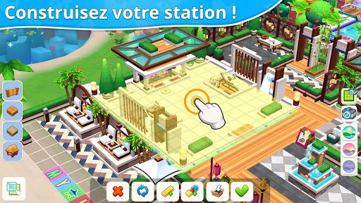 Télécharger Gratuit Mon petit paradis : gestion de station de vacances mod apk screenshots 2