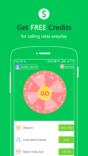 Free Calls - International Phone Calling App  Screenshots 4