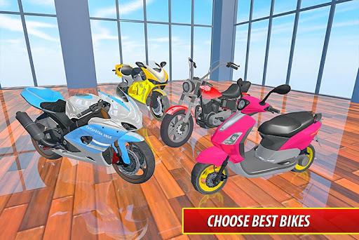 Moto Bike Pizza Delivery u2013 Girl Food Game 1.0 screenshots 5