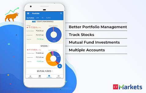 ET Markets   NSE  BSE India Apk 4
