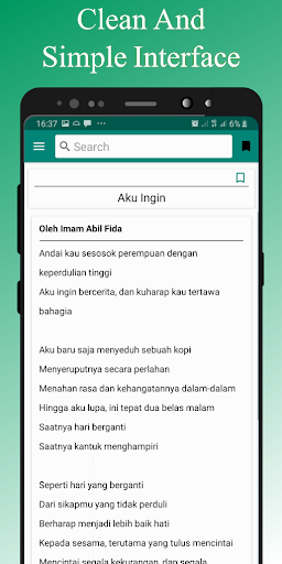 Kumpulan Puisi modavailable screenshots 17