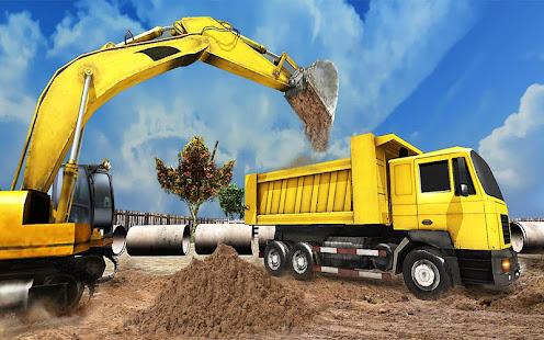Utility construction machines 1.3.0 screenshots 3