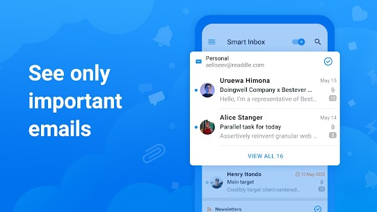 Spark Email – Connect Gmail, Yahoo & Outlook mail 2