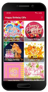 Happy Birthday GIF Images