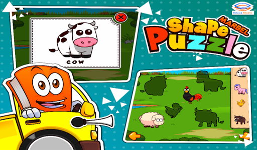 Marbel Shape Puzzle Kids Games modavailable screenshots 12