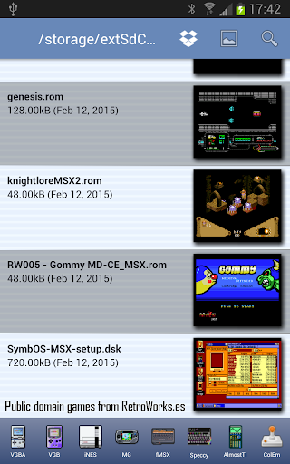 fMSX - Free MSX Emulator  screenshots 2