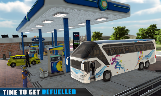 Coach Bus Simulator - City Bus Driving School Test 2.1 screenshots 2