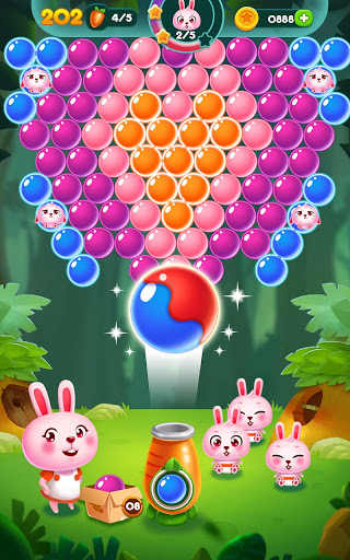 Bubble Bunny: Animal Forest Shooter apkpoly screenshots 21