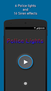 Police Siren and Lights Simulation
