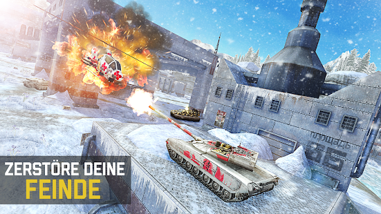 Massive Warfare: Blitz Helikopter & Tank War Spiel Screenshot