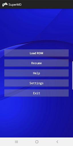 SuperMD (MD/GEN Emulator) 3.1.1 screenshots 1