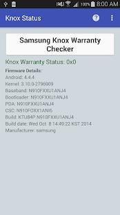 KNOX Status Samsung