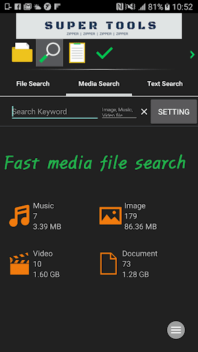 7Zipper - File Explorer (zip, 7zip, rar) 3.10.73 Screenshots 5