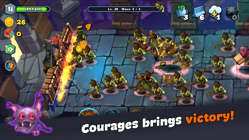 Magic Siege - Castle Defender 1.95.37 screenshots 5