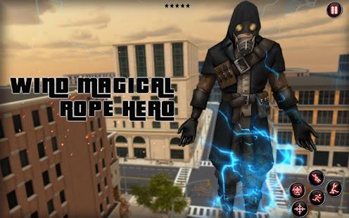 wind magical rope hero screenshots 9