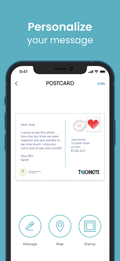 TouchNote: Card Maker - Postcards & Greeting Cards  screenshots 7