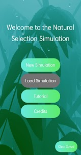 Natural Selection Simulation 1.3.2 Mod APK with Data 1