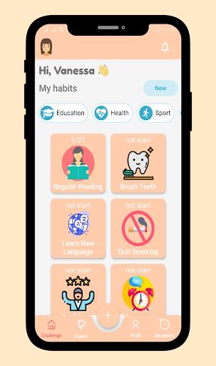 21 Days Habit Challenges 7.1.1 screenshots 1