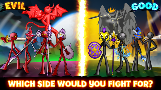 Stickman Battle 2021: Stick Fight War Apkfinish screenshots 16