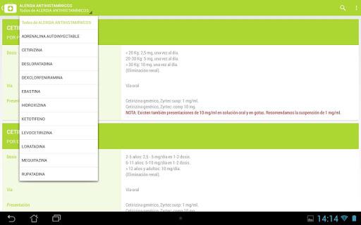 DosisPedia 3.1.9 Screenshots 6