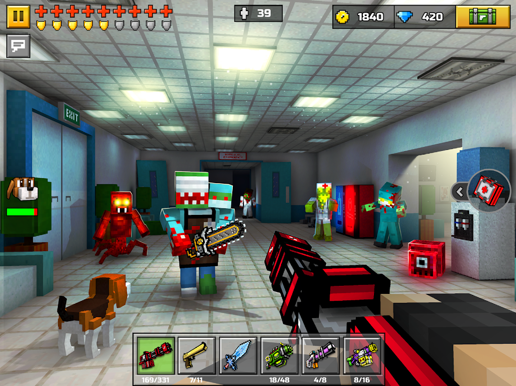 Pixel Gun 3D: FPS Shooter & Battle Royale  poster 9
