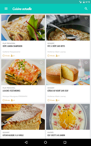 Cuisine Actuelle - idu00e9es recettes 2.6.4 Screenshots 14