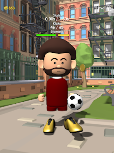 The Real Juggle - Pro Freestyle Soccer Screenshot