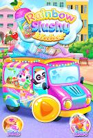 Rainbow Frozen Slushy Truck: Ice Candy Slush Maker