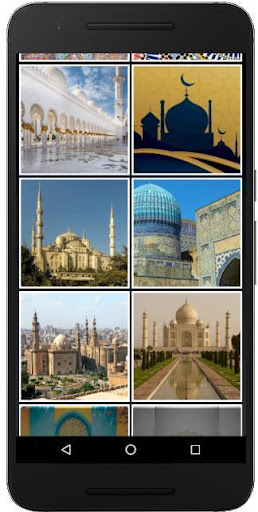 Islamic Arts Jigsaw ,  Slide Puzzle and 2048 Game  screenshots 5