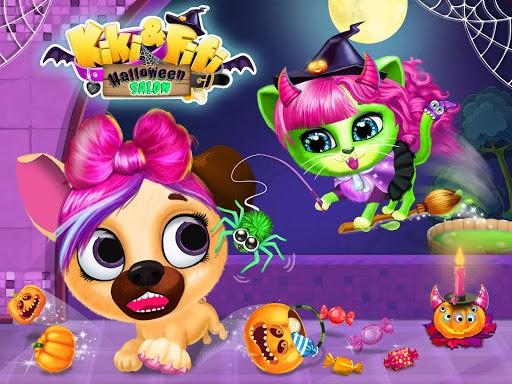 Kiki & Fifi Halloween Salon - Scary Pet Makeover  Screenshots 10
