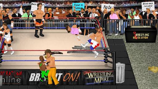 Wrestling Revolution apkslow screenshots 8