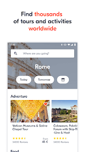 GetYourGuide: Activity tickets & sightseeing tours 3.82.0 Screenshots 2