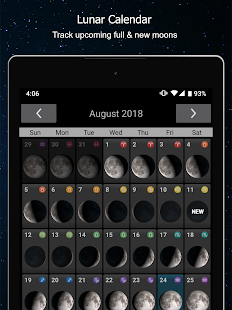 Phases of the Moon Calendar & Wallpaper Free 6.1.9 Screenshots 13