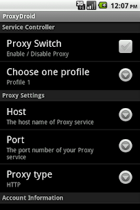PROXYDROID for PC 1