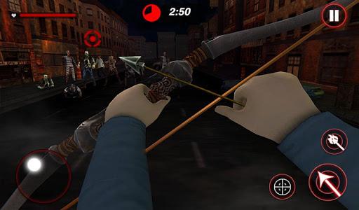 Archer Hunting Zombie City Last Battle 3D modavailable screenshots 15