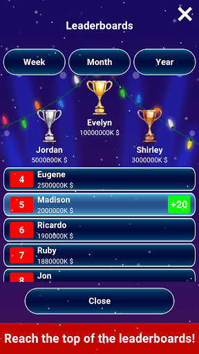 Millionaire 2020 -  Free Trivia Quiz Offline Game 1.5.3.3 Screenshots 5