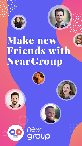 NearGroup : Chat, Audio & Rooms  Screenshots 1