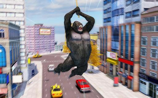 Crazy Gorilla GT Parkour-Superhero Mega Ramp Stunt screenshots 3