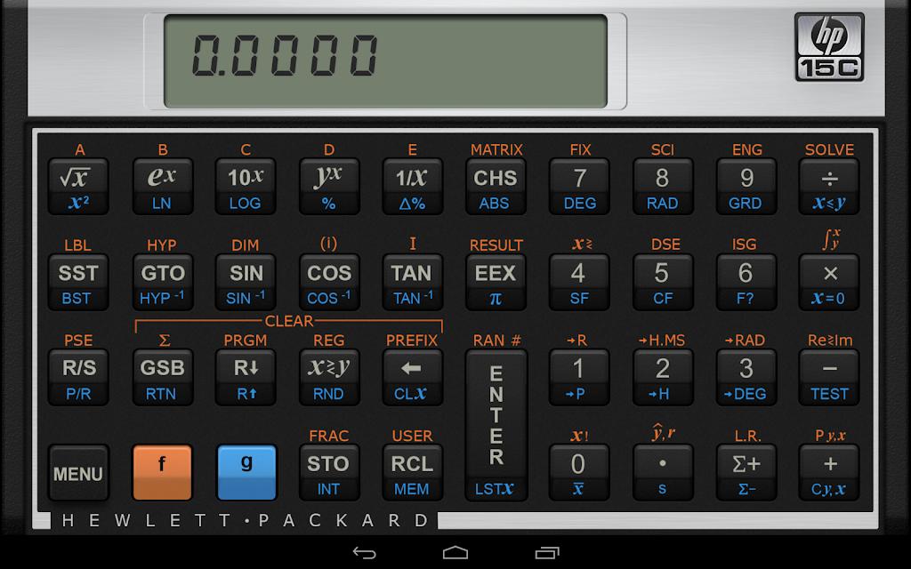 HP 15C Scientific Calculator  poster 4