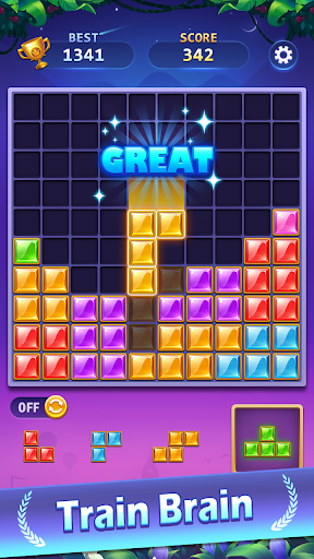 BlockPuz Jewel-Free Classic Block Puzzle Game 1.2.2 screenshots 1