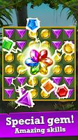 Jungle Gem Blast: Match 3 Jewel Crush Puzzles